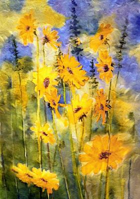 Springtime Mixed Media - Happiness by Georgiana Romanovna