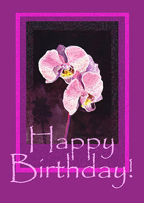 Royalty-Free and Rights-Managed Images - Happy Birthday  by Irina Sztukowski