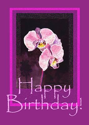 Happy Birthday  Art Print by Irina Sztukowski