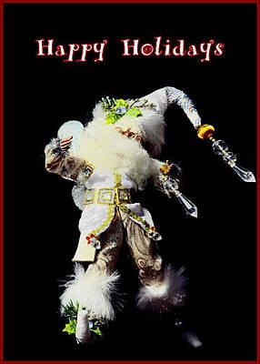 Photograph - Happy Holidays Elf by Deb Buchanan