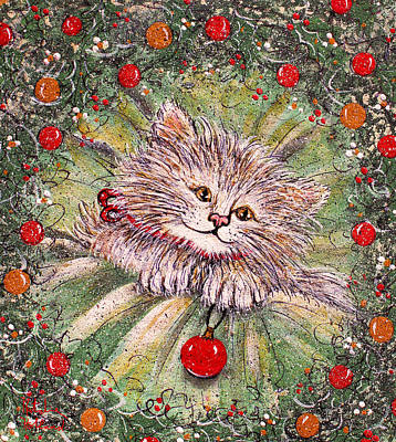 Painting - Happy Holidays by Natalie Holland