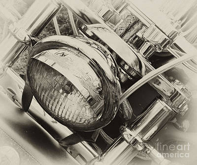 Photograph - Harley Chrome  by Wilma  Birdwell