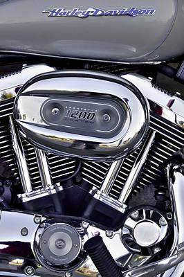 Photograph - Harley Davidson Sportster 1200 by David Patterson