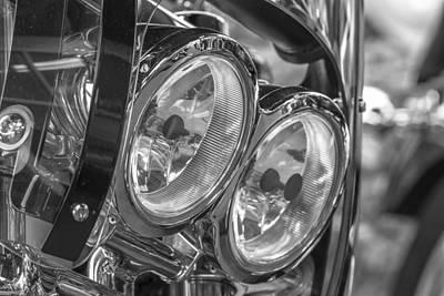 Photograph - 2 Harley Lights  by John McGraw