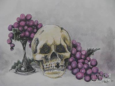 Harold And The Vine Art Print