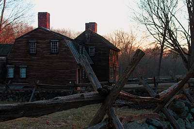 Photograph - Hartwell Tavern  by Jeff Heimlich