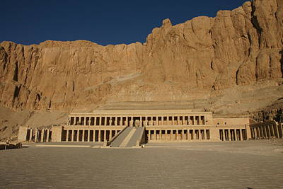 Photograph - Hatshepsut Temple by Christian Zesewitz