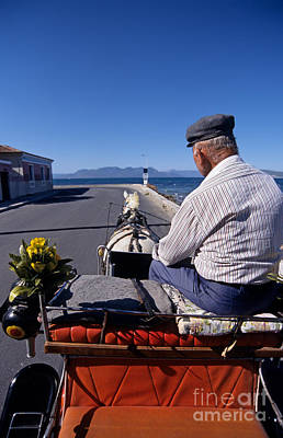Aegina Photograph - Having A Ride In Aegina Island by George Atsametakis