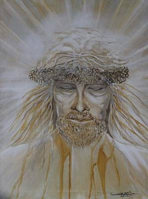 Resurrecting Painting - He Is Risen by Anne Buffington