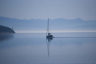Whidbey Island Wa Photograph - Heading Out by Ron Roberts