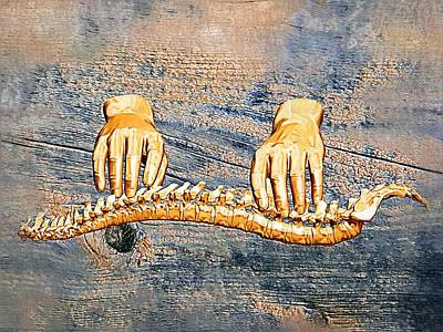 Chiropractic Digital Art - Healing Touch by Joseph Ventura