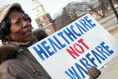 Reform Photograph - Healthcare Reform Campaign by Jim West