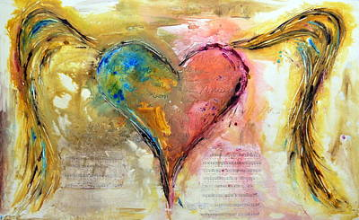 Amor Painting - Heart Of A Lover by Ivan Guaderrama
