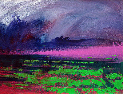 Heather Painting - Heather Weather by Neil McBride