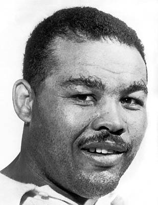 Heavyweight Champion Joe Louis Print by Underwood Archives