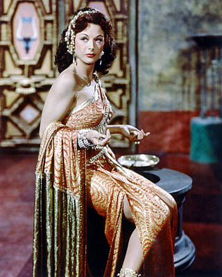 Hedy Lamarr In Samson And Delilah  Art Print