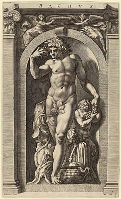 Hendrik Goltzius After Polidoro Da Caravaggio Dutch Art Print by Quint Lox