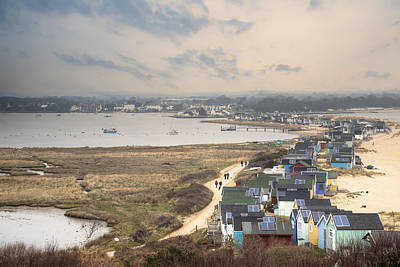 Beach Huts Photograph - Hengistbury Head - England by Joana Kruse