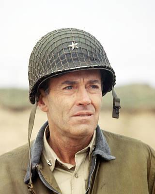 Henry Fonda In Battle Of The Bulge  Art Print