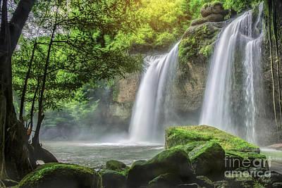Heo Suwat Waterfall  Art Print