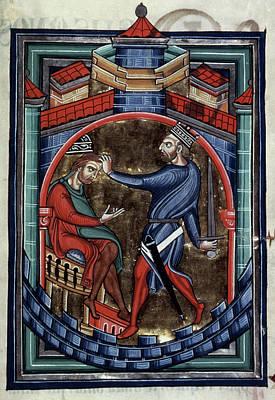 7th Century Painting - Heraclius (c575-641) by Granger