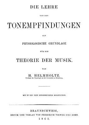 Physiology Painting - Hermann Von Helmholtz (1821-1894) by Granger
