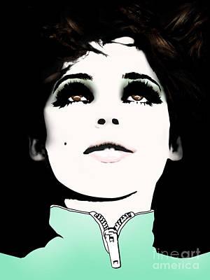 Overdose Digital Art - Heroine Of Chelsea / Edie by David Krajecki