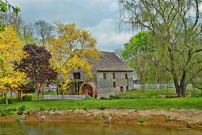 Photograph - Herr's Mill  by Dyle   Warren