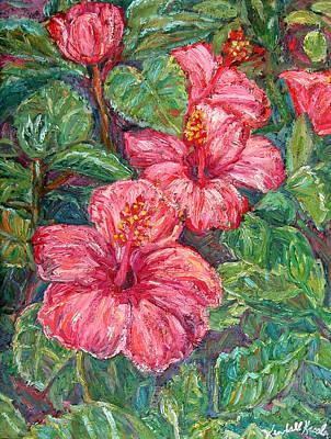 Painting - Hibiscus by Kendall Kessler