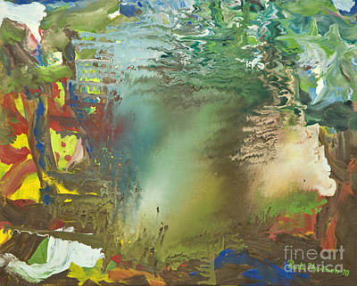 Painting - Hide by Pauli Hyvonen