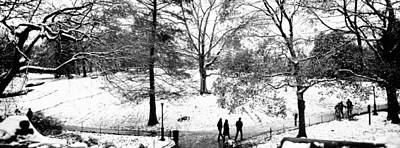 White City Park Photograph - High Angle View Of A Group Of People by Panoramic Images
