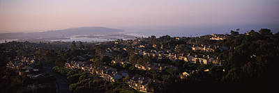 Missions San Diego Photograph - High Angle View Of Buildings In A City by Panoramic Images
