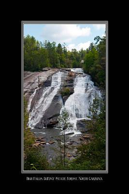 Photograph - High Falls North Carolina by Charles Beeler