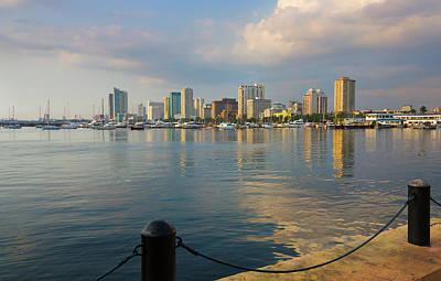 Manila Photograph - High Rises Along The Waterfront, Manila by Keren Su