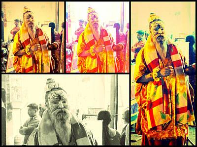 City Photograph - Hindu Saint by Girish J