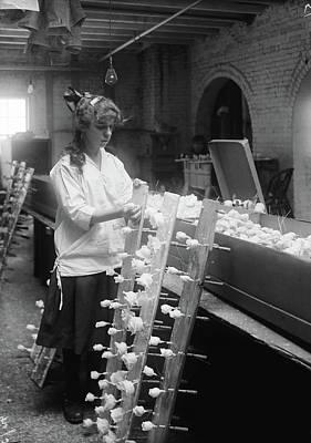 Hine Flower Factory, 1917 Print by Granger