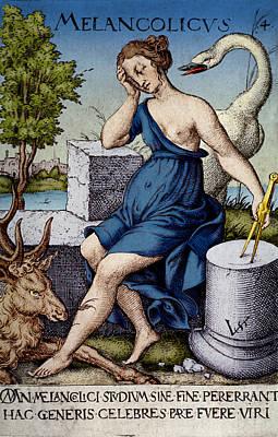 Hippocratic Medicine, Four Humors Art Print