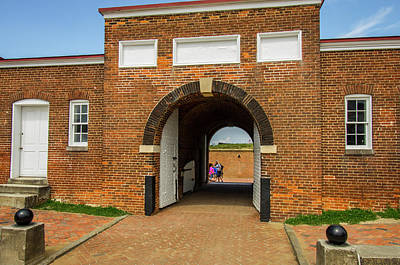 Mchenry Photograph - Historic Fort Mchenry, Birthplace by Jerry Ginsberg