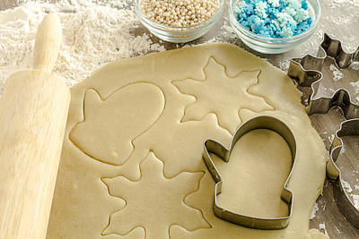 Vermeer Rights Managed Images - Holiday Baking Fun Royalty-Free Image by Teri Virbickis