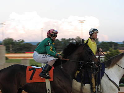 Hollywood Casino At Charles Town Races - 12122 Art Print by DC Photographer