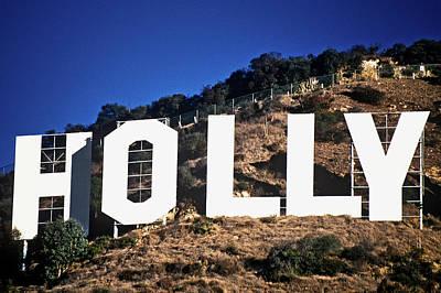 Hollywood Sign On The Hillsides Art Print