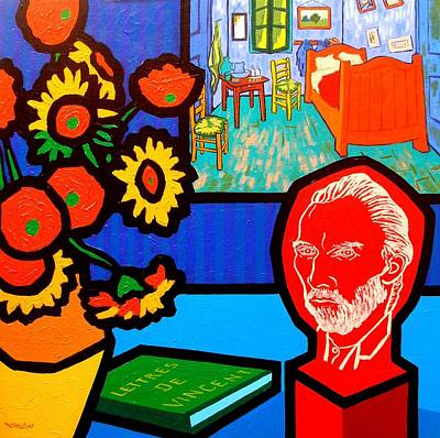 Homage To Vincent Van Gogh Original by John  Nolan