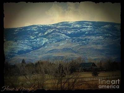 Photograph - Home Is Nevada by Bobbee Rickard