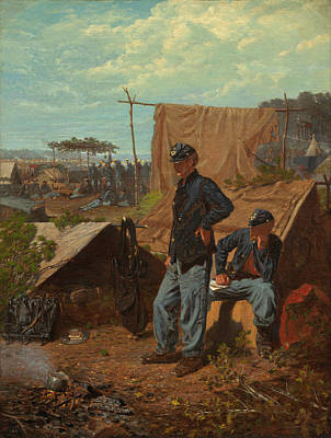 Home Sweet Home Painting - Home Sweet Home by Winslow Homer