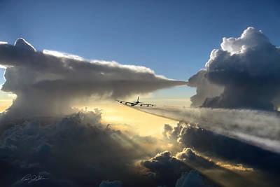 Thunder Digital Art - Homeward Bound by Peter Chilelli