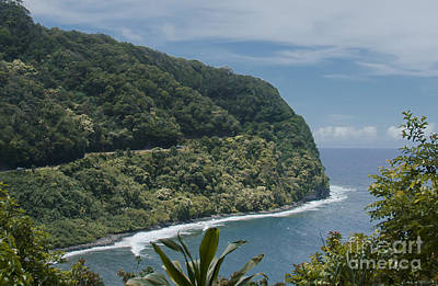 Photograph - Honomanu - Highway To Heaven - Road To Hana Maui Hawaii by Sharon Mau