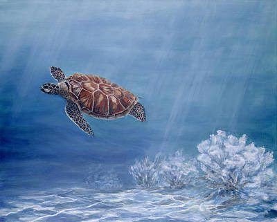 Honu Art Print by Dorothea Hyde