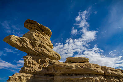 Photograph - Hoodoo Rock Formations by Ron Pate