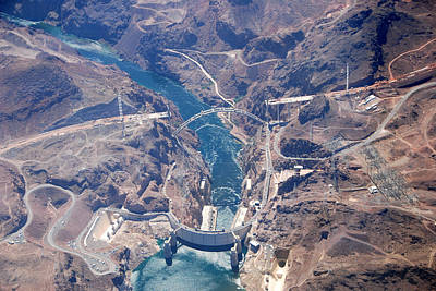 Photograph - Hoover Dam Black Canyon Overview by John Schneider