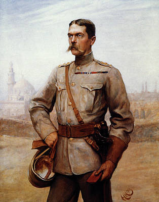 Horatio Herbert Kitchener (1850-1916) Art Print by Granger